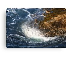 Crashing Waves at Cape Flattery Canvas Print