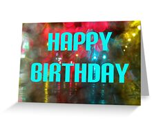 Bokeh - Happy Birthday Greeting Card