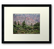 Roaring Springs Canyon Framed Print
