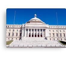 Capitol of Puerto Rico. Canvas Print
