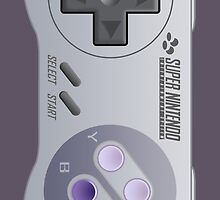 Super Nintendo controller - phone case by Deezer509