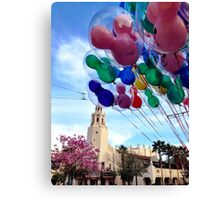 Carthay Circle Theater with Balloons Canvas Print