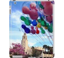 Carthay Circle Theater with Balloons iPad Case/Skin