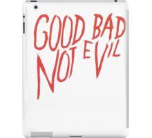 Not evvil iPad Case/Skin