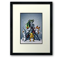 Team up Framed Print