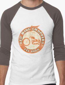 Red Wing Choppers Men's Baseball ¾ T-Shirt