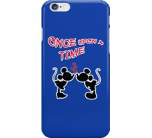 Minnie & Mickey - Stroke  iPhone Case/Skin