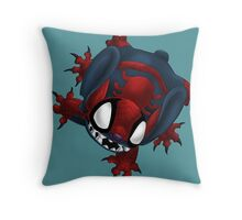 SpiderStitch Throw Pillow