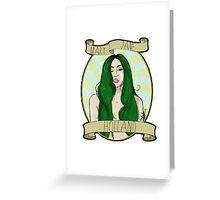 Mary Jane Holland  Greeting Card