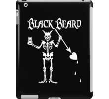 Black Beards Flag iPad Case/Skin