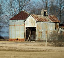 A Rusty Little Building by grannyjune