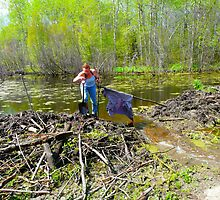 Beaver Dam on The Road by MaeBelle
