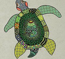 Green Tortoise by drinette