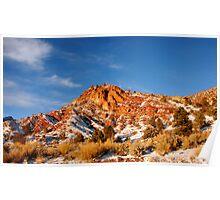 Entrance to Cedar Canyon, Utah Poster