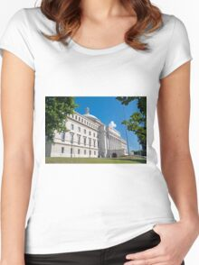 Capitol of Puerto Rico. Women's Fitted Scoop T-Shirt