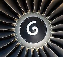 Jet engine detail. by FER737NG