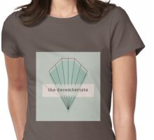The Decemberists Geometric Womens Fitted T-Shirt
