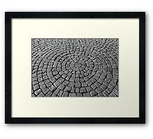 cobblestones Framed Print