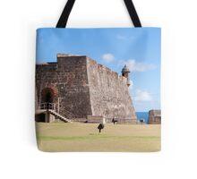 Castillo de San Cristobal. Tote Bag