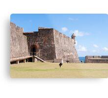 Castillo de San Cristobal. Metal Print