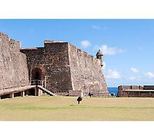 Castillo de San Cristobal. Photographic Print