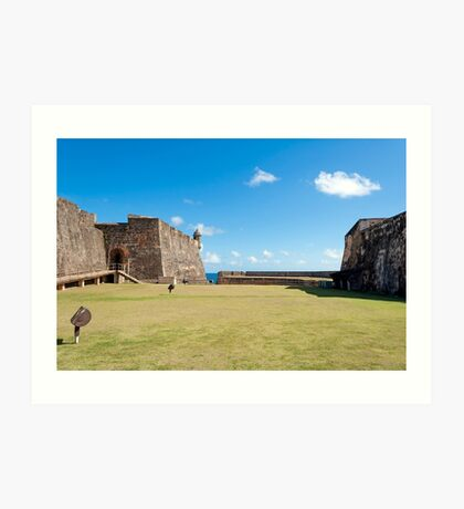 Castillo de San Cristobal. Art Print