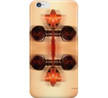 Violin Abstraction  iPhone Case/Skin