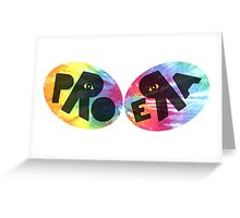 Pro Era Black Tie Dye Greeting Card