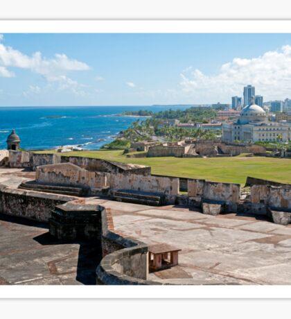 Old San Juan. Sticker