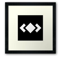 Madeon Adventure Logo - White Framed Print