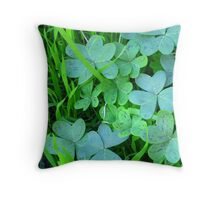 Patch  of  Hearts Throw Pillow