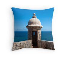 Castillo San Felipe del Morro. Throw Pillow