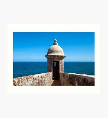 Castillo San Felipe del Morro. Art Print
