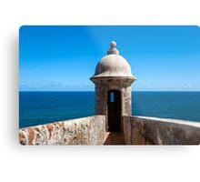 Castillo San Felipe del Morro. Metal Print