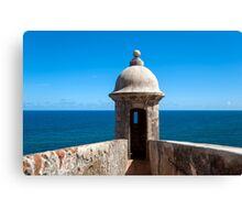Castillo San Felipe del Morro. Canvas Print