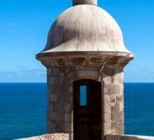 Castillo San Felipe del Morro. Sticker