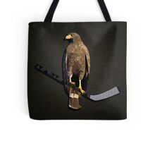 Polyhawk on Black Tote Bag