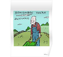 0011 Awesome - All Poster