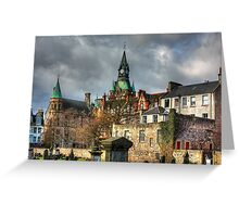 Dunfermline Tower Greeting Card