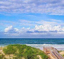 Ocean Beach Dunes by Kenneth Keifer