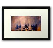 Between the Darkness and the Light Framed Print