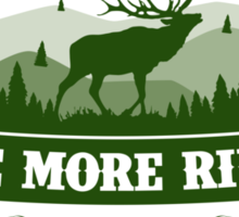 Elk Hunting Motivation Sticker