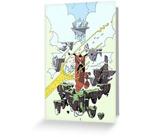 SkyRider Greeting Card