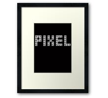 Textile Block Architecture Tshirt Framed Print
