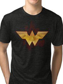 The Amazonian - Wonder Woman Tri-blend T-Shirt