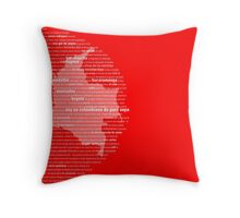 Colombiano de Pura Sepa Throw Pillow