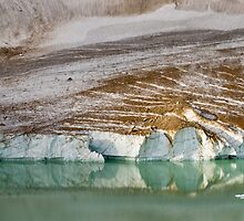 Glacial lake by Philippe Widling