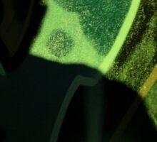 Hip hop rap rapper singer at night in dark nightclub bar graffiti wall with baseball cap Sticker
