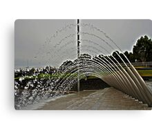 Water Arch Canvas Print
