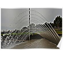 Water Arch Poster